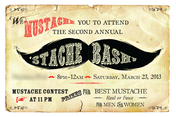 Mustache Party Invitation 2 patricia designs Patricia Turner